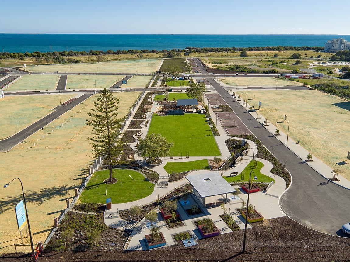 Coogee Parkland - Stage 1 - photo from Landcorp Shoreline